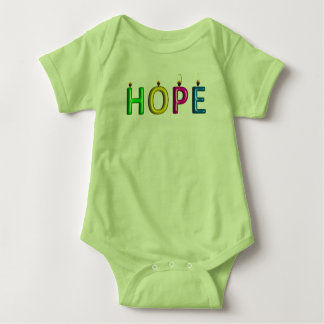 Living Proof of Hope baby tee
