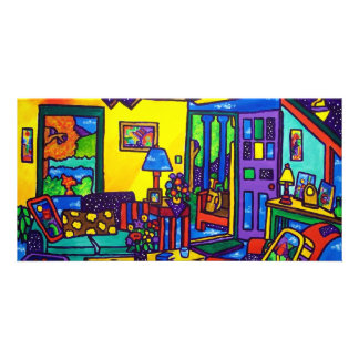 Living Room # 1 by Piliero Picture Card