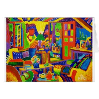 Living Room Magic Card