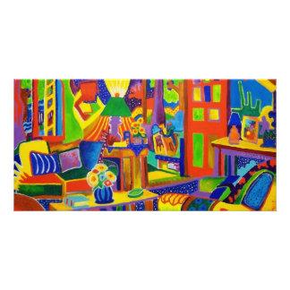Living Room Magic Photo Greeting Card
