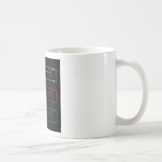 Living room modern sofa in different colors coffee mug