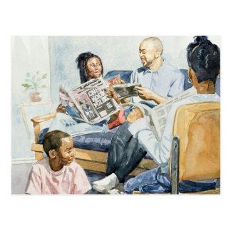Living Room Serenades 2003 Postcard