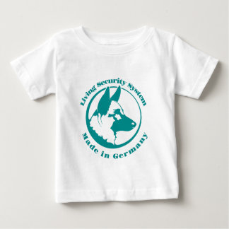 living security GSD Baby T-Shirt