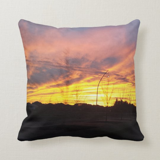 Living Skies pillow