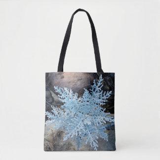 Living Snowflake Tote Bag