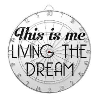 Living the Dream Dartboard