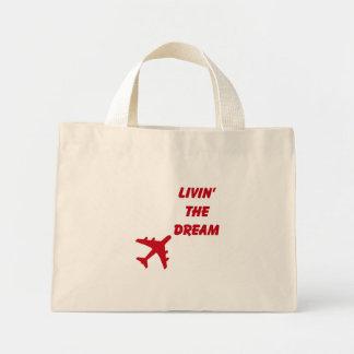 Living The Dream FLORAL Tote Mini Tote Bag