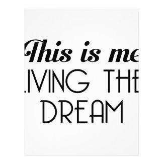 Living the Dream Letterhead
