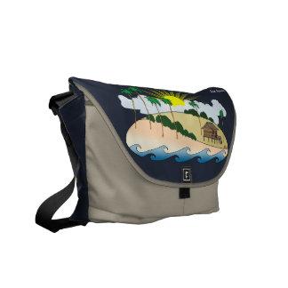 Living The Dream Messenger Bags