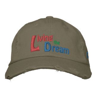 Living the Dream of Dr. Martin Luther King, Jr. Embroidered Baseball Cap