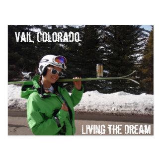 Living the Dream, Vail, Colorado Postcard