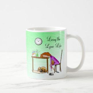 Living the Lymie Life Fatigued Lady Coffee Mug
