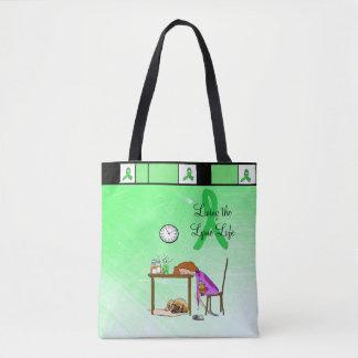 Living the Lymie Life Lyme Disease Tote Bag