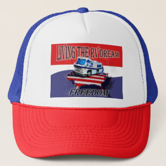 Living the RV Dream Freedom  Baseball hat