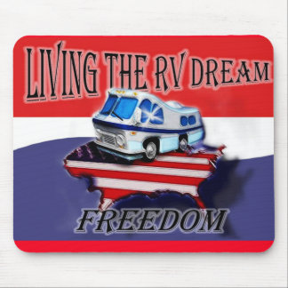 Living the RV Dream Freedom mouse pad