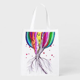 Living Tree - Reusable Bag Market Totes