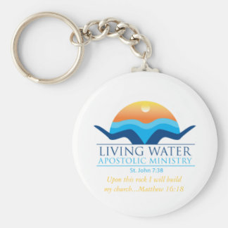living water key chain