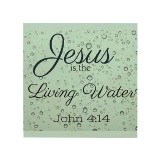 Living Water Wood Wall Art