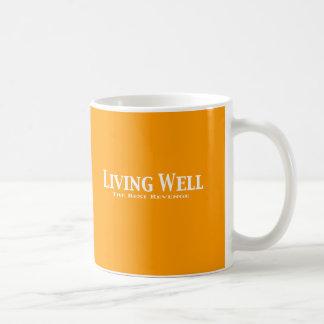 Living Well The Best Revenge Gifts Coffee Mug