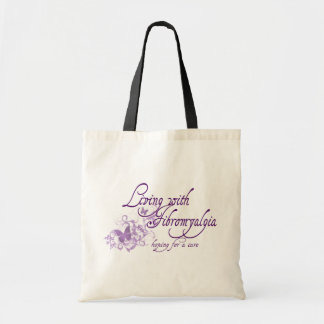 Living with Fibromyalgia Tote Bag