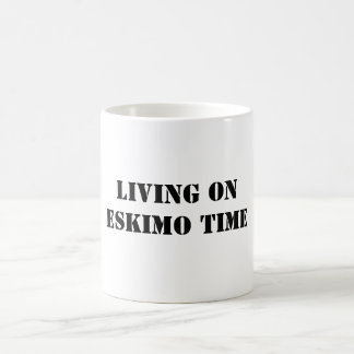 LIVINGON ESKIMO TIME COFFEE MUG