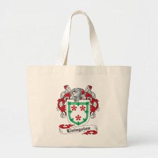 Livingston Family Crest Bags