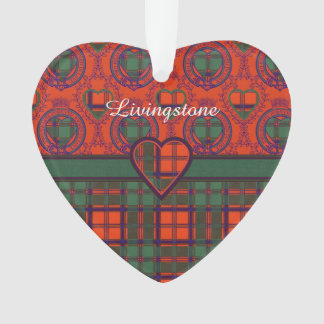 Livingstone clan Plaid Scottish tartan