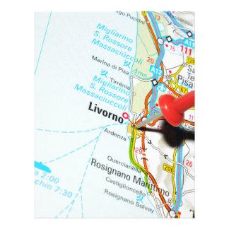 Livorno, Italy Letterhead