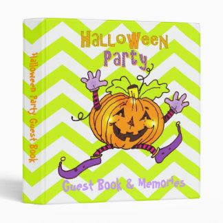 Livre d'invité heureux de partie de Halloween de c