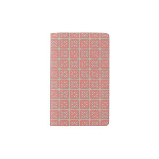 livret Constance, pattern Pocket Moleskine Notebook
