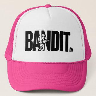LixBMX 'Bandit' vintage BMX trucker hat (pink)