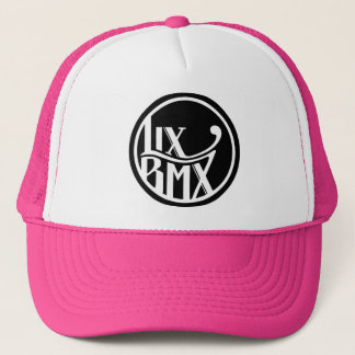 LixBMX Logo Trucker - Pink Trucker Hat