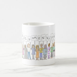 LIZA DONNELLY WISE WOMEN FOR CLINTON EXCLUSIVE MUG