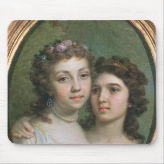 Lizanka and Dashenka, 1784 Mouse Pad