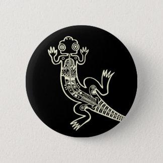 Lizard 2 Inch Round Button