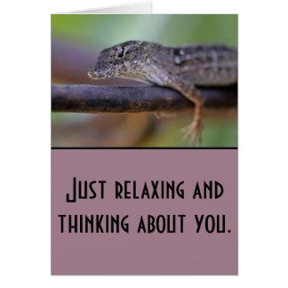 lizard! card