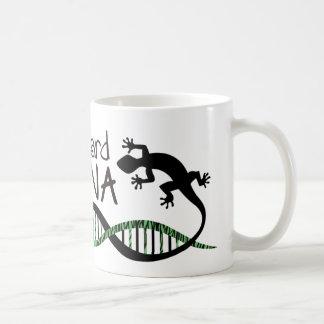 Lizard DNA coffee mug