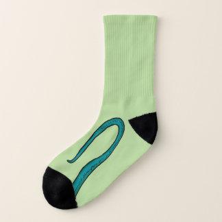 Lizard Dragon Tail and Claw Socks 1