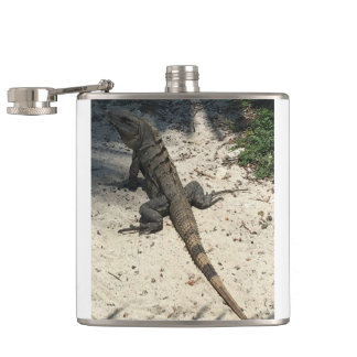 LIZARD HIP FLASK
