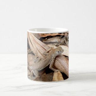 Lizard in the Dry Leaves Mug