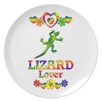 Lizard Lover Party Plates
