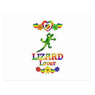Lizard Lover Postcard