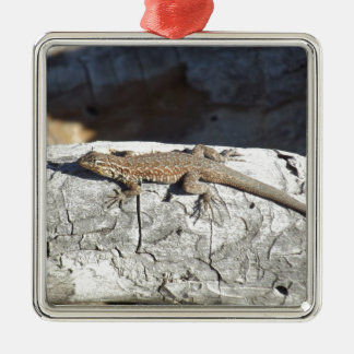 Lizard Metal Ornament