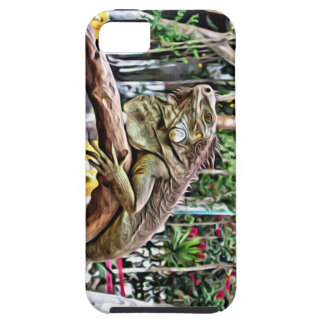 Lizard on a branch iPhone 5 cover