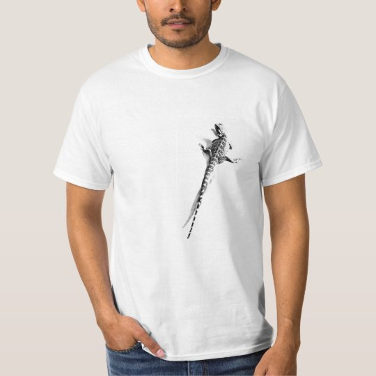Lizard on Me Mens T-shirt