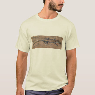 """Lizard on Sand"" T shirt, great southwestern look! T-Shirt"