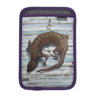 LIZARD ON THE WALL by Slipperywindow iPad Mini Sleeves