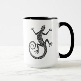Lizard Or Salamander Doodle Mug