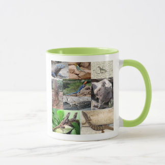 Lizard photo mugs full color