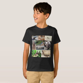 Lizard photo shirt full color